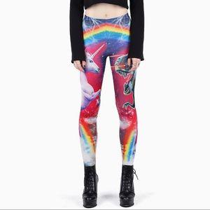 Blackmilk Pants - Blackmilk Hell Yeah Supershine Leggings BNWT